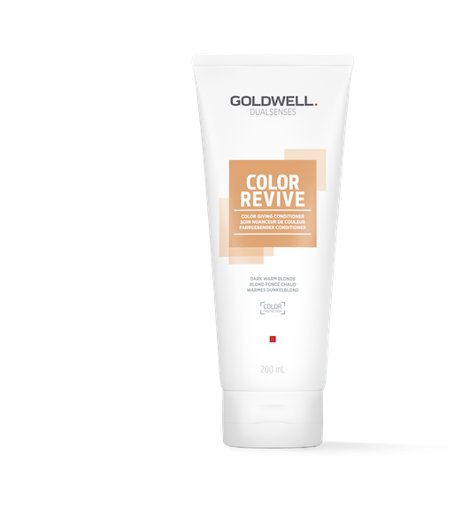 Goldwell Dual Senses Color Revive Dark Warm Blonde Conditioner