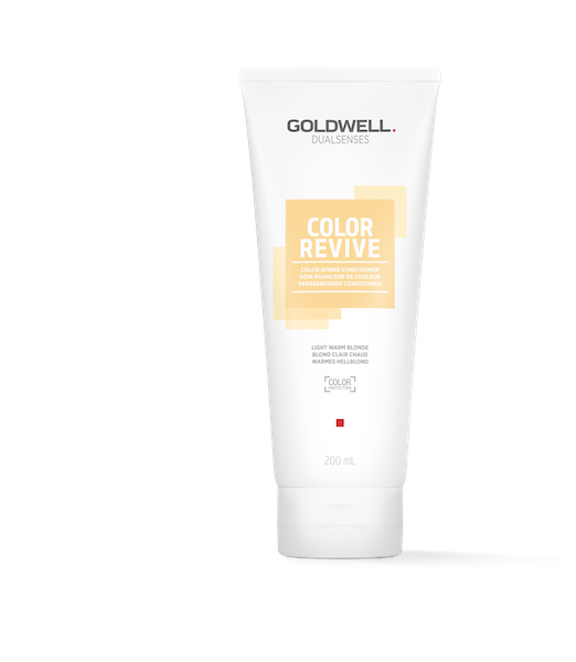Goldwell Dual Senses Color Revive Light Warm Blonde Conditioner